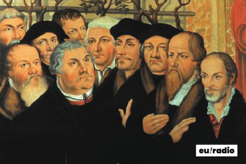 EUROPE IN A SOUNDBITE,  Erasmus and Luther  The confrontation of two Renaissance giants