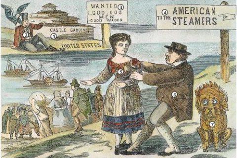 L'émigration d'Européens vers d'autres continents au XIX e s. : un français au Québec