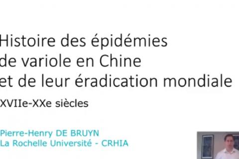 ÉPIDÉMIES n°10 – Histoire des épidémies de variole en Chine et de leur éradication mondiale