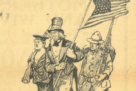 1917 : les États-Unis dans la Première Guerre mondiale