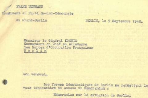 Berlin dans la guerre froide (1) : 1948-1949, le blocus soviétique