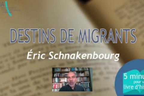 """5 MN POUR UN LIVRE D'HISTOIRE N°1: """"Destins de migrants"""""""