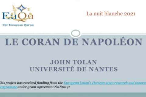 Le Coran de Napoléon
