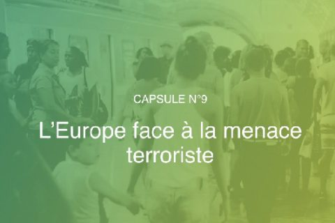L'Europe face à la menace terroriste